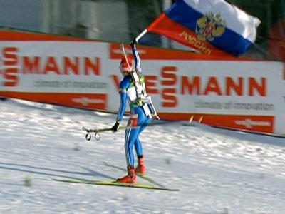 Россиянки выиграли вторую эстафету подряд