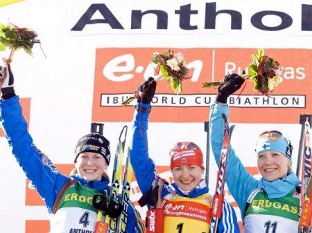 Екатерина Юрьева победила в масс-старте