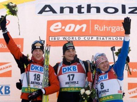 Иван Черезов занял третье место