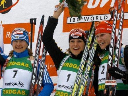 Юрьева - серебряный призер гонки преследования
