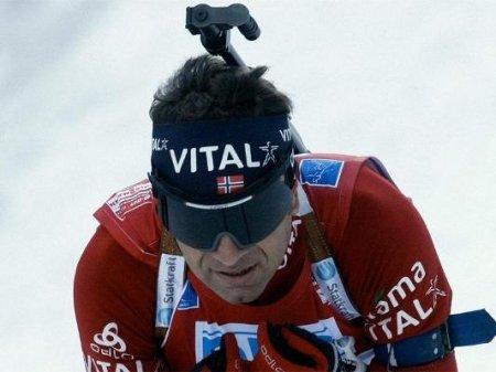 Бьорндален выиграл спринт в Рупольдинге