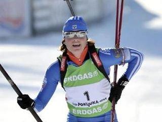 Слепцова выиграла гонку преследования!