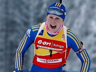 Йонссон опередила Зайцеву в борьбе за «биатлонный Оскар»