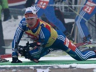 Устюгов завоевал серебро в масс-старте