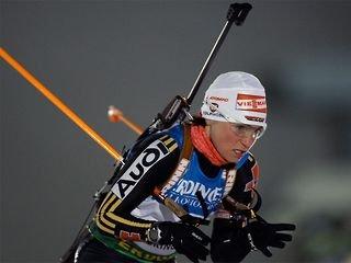 Ольга Зайцева заняла пятое место в гонке преследования