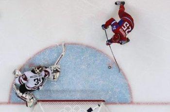 Сборная России в первом матче разгромила Латвию со счетом 8:2