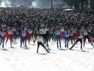 XXIX открытая Всероссийская массовая лыжная гонка