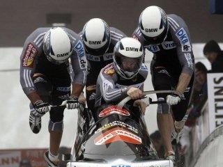 Экипаж Александра Зубкова не попал на пьедестал почета в соревнованиях бобслеистов на Чемпионате Мира в Кёнигзее
