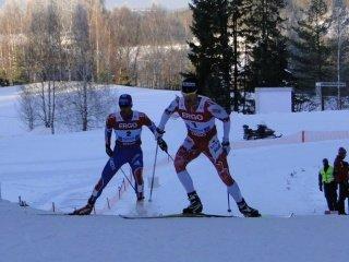 Российские лыжники выиграли бронзу в командном спринте на Чемпионате мира