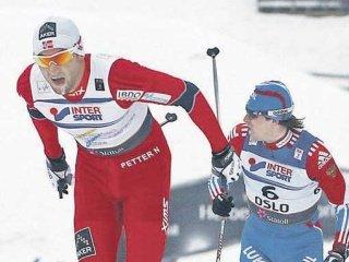 Максим Вылегжанин выиграл серебро Чемпионата мира в гонке на 50 км