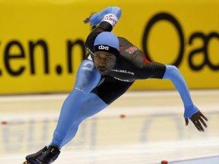 Шани Дэвис - чемпион мира на дистанции 1000 м