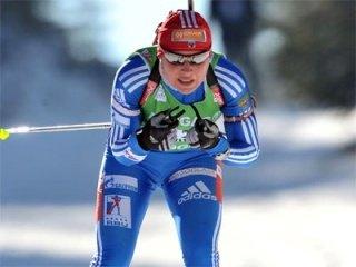 Последний в сезоне женский масс-старт стал триумфальным для сборной команды России