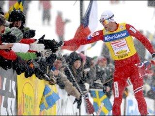 Марит Бьорген и Петтер Нортуг выиграли финальный этап Кубка мира