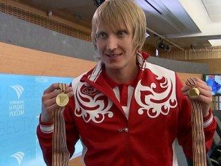 Иван Скобрев - чемпион России на дистанции 1500 метров