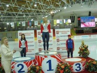 Елена Сохрякова выиграла золото чемпионата России на дистанции 3000 метров