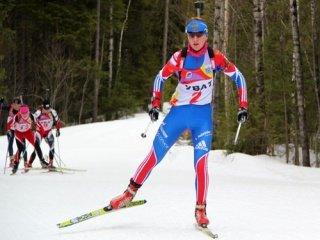 Екатерина Глазырина победила в марафонской гонке на Чемпионате России по биатлону