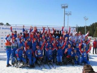 48 медалей выиграли российские паралимпийцы на Чемпионате мира по биатлону и лыжным гонкам