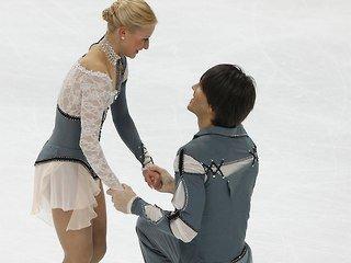 Татьяна Волосожар и Максим Траньков завоевали серебро на Чемпионате мира в Москве