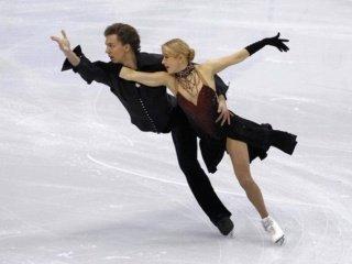 После короткой танцевальной программы две российские пары расположились на 5-м и 6-м местах