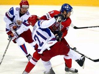 Сборная России по хоккею уступила чехам в матче за бронзу чемпионата мира