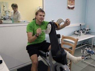 Иван Черезов уже тренируется