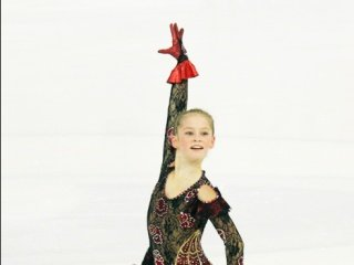 Юлия Липницкая завоевала золото, Анна Шершак - серебро