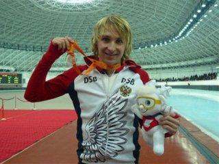 Результаты контрольных стартов конькобежцев в Коломне