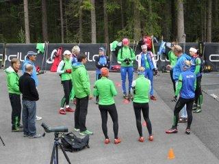 Биатлонистки сборной команды России отправились на сбор в финский Муонио