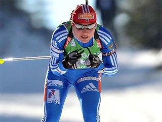 Анна Богалий-Титовец первой из россиянок уйдет на дистанцию в спринтерской гонке в Остерсунде