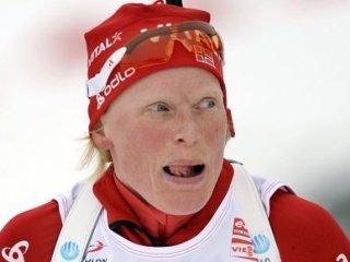 Норвежка Тура Бергер стала победительницей женской гонки преследования на первом этапе Кубка мира