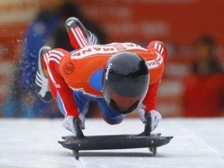 Александр Третьяков - бронзовый призер второго этапа Кубка мира по скелетону