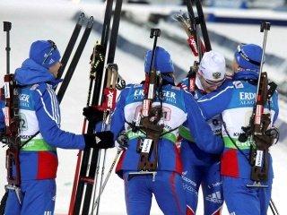 Объявлен состав мужской сборной России по биатлону на эстафетную гонку в Хохфильцене