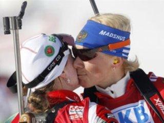 Ольга Зайцева выиграла серебряную медаль в гонке преследования в Хохфильцене