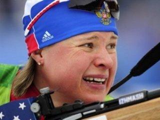 Женская сборная России выиграла бронзу в эстафете на втором этапе Кубка мира по биатлону
