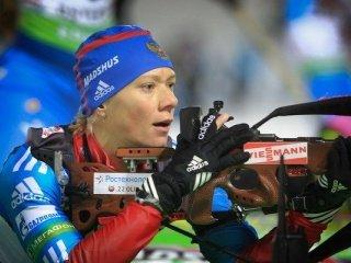 Определены стартовые номера российских биатлонисток на спринтерскую гонку в Хохфильцене