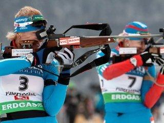 Шипулин, Волков, Зайцева и Вилухина представят сборную России в смешанной эстафете на третьем этапе Кубка мира по биатлону
