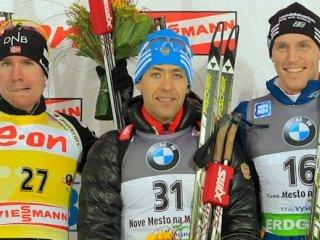 Андрей Маковеев выиграл индивидуальную гонку на пятом этапе Кубка мира по биатлону
