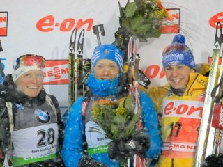 Ольга Зайцева выиграла спринт на пятом этапе Кубка мира в Чехии