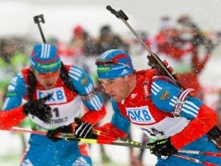 Андреас Бирнбахер выиграл мужской масс-старт, Антон Шипулин - второй