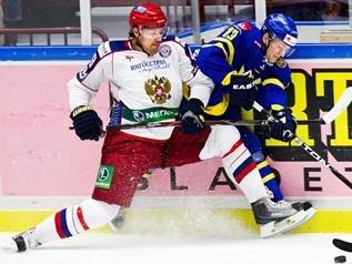 Назван предварительный состав сборной России по хоккею на шведский этап Евротура