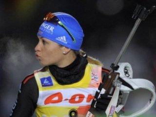Магдалена Нойнер выиграла золотую медаль в спринте на седьмом этапе Кубка мира по биатлону