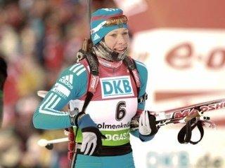 Ольга Зайцева выиграла серебро в гонке преследования