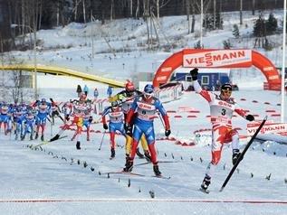 Илья Черноусов - серебряный призер масс-старта