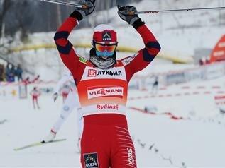 Марит Бьорген выиграла масс-старт в Рыбинске