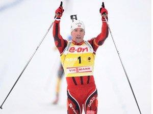 Эмиль-Хегле Свендсен выиграл мужской масс-старт в Хольменколлене