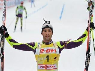 Мартен Фуркад выиграл масс-старт на чемпионате мира по биатлону