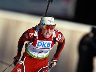 Тора Бергер выиграла масс-старт на чемпионате мира в Германии