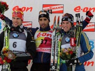 Мартен Фуркад выиграл спринт на этапе Кубка мира в Ханты-Мансийске