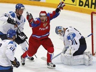 Чемпионат мира по хоккею с шайбой 2012. Россия - Финляндия: 6-2