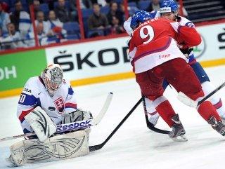 Чемпионат мира по хоккею с шайбой 2012. Чехия - Словакия: 1-3